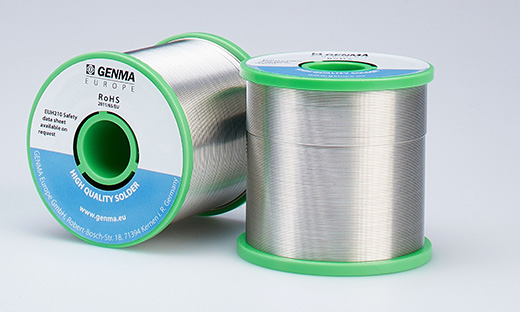 Solder wire on rolls - GENMA Europe GmbH